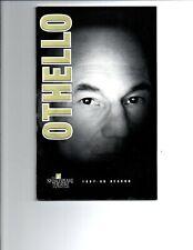 Othello Souvenir Program - Patrick Stewart - Star Trek -Shakespeare Theatre-1997
