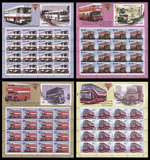 Iraq Irak 2017, Bus, Transportation Full Sheet, MNH 4894