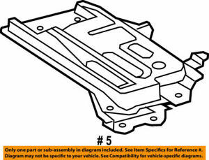 74410-12020 Toyota Carrier assy, battery 7441012020, New Genuine OEM Part