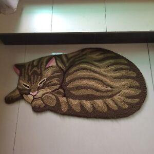 2020 cat door mat animal shaped rug cute non-slip floor mat area carpet gift top