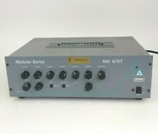 Peavey Powered Mixer Amplifier MA 675T Architectural Acoustics Modular Series