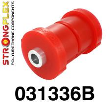 2 PU Buchsen für Tonnenlager/Achsträger HA BMW E30 + M3 StrongFlex 80ShA rot