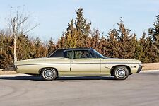 1968 Chevrolet Impala tan side view | 24 x 36 INCH POSTER | sports car