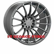 "4X 17"" GENUINE XXR 550 PLATINUM WHEELS XXR550 RIMS CONCAVE 5X100 5X114.3 ET19"