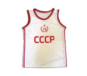 Throwback Arvydas Sabonis #11 Russia CCCP Soviet Basketball Jerseys Stitched