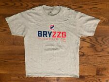 Bryzzo Kris Bryant Anthony Rizzo Chicago Cubs Baseball Fanatics T-Shirt Men's XL