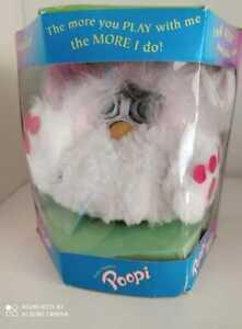 Furby fake POOPI knockoff Furby electronic vtg NIB white very Rare