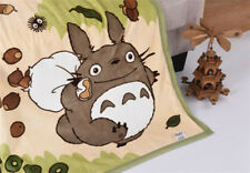 """55"""" *40"""" Layer Totoro Soft Blanket Throw QuiltComfy Anime Plush Sofa Xmas Gift A"""