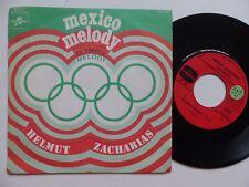 HELMUT ZACHARIAS Mexico melody Olympia melody CF 171 FRANCE  rrr