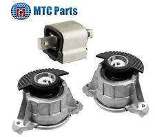 MTC 08-12 Mercedes-Benz W204 W212 C E Class Engine Motor & Trans. Mount Set 3PCS