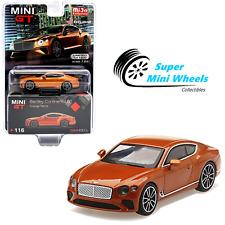 Mini Gt 1:64 Bentley Continental Gt (Orange Flame) #116