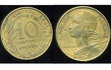 FRANCE  FRANCIA  10 centimes MARIANNE 1966  (bis )