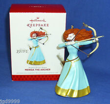 Hallmark Ornament Disney Pixar Brave Merida The Archer 2013 Bow and Arrow NIB