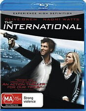 The International - Action / Thriller - NEW Blu-Ray