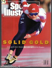 Sports Illustrated 1992 Olympic Speed Skater Bonnie Blair No Label Excellent*