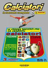 ALBUM PANINI CALCIATORI LA RACCOLTA COMPLETA 1970-1971 GAZZETTA DELLO SPORT