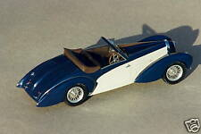 BUGATTI  57  ARAVIS  CABRIOLET  1939  VROOM  A   MONTER  1/43  UNPAINTED  KIT