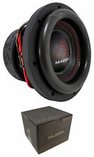 "Massive Audio HippoXL82R 8"" Subwoofer 1800W Dual 2 Ohm Voice Coil Car Audio"