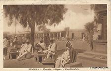 * ERITREA - Asmara - Indigenous Market, Moneychanger 1936 Italian Colony