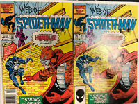 Web of Spider-Man (1986) # 19 (NM) 1st App of Solo - Sony Movie Newsstand Direct