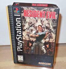 Resident Evil (Sony PlayStation 1) original rare long box
