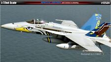 Academy US NAVY F/A -18C VFA-82 Marauders Plastic Model Kit 1/72 Aero Gift 12534
