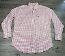 Peter Millar Nanoluxe Easycare Georgia Bulldogs Button Up Shirt Large