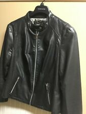 Womens plus 1x Wilsons Genuine Black Leather Jacket