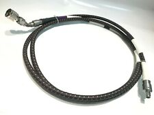 Times Microwave miltech SMA à N 210 cm 18GHz Rugged RF TEST CABLE ad1Y12