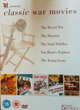 CLASSIC WAR MOVIES (5 DISC) DVD BOXSET