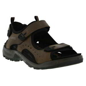 Ecco Shoes Offroad Mens Brown Leather Walking Hiking Sandals Shoes Size 8-12.5