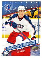 2016-17 UD NATIONAL HOCKEY CARD DAY USA VERSION #3 ZACH WERENSKI RC Rookie