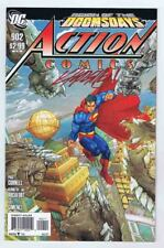 Action Comics #902 VFNM Signed w/COA Kenneth Rocafort 2011 Doomsday PWC