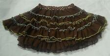 NWT Mustard Pie Clothing Girl Prima Tutu In Brown Lace Size 10