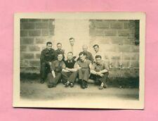 PHOTOGRAPHIE - PHOTO DE GROUPE - STALAG II D - STARGARD / POMERANIE - cliché 1