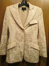 RENA LANGE LADIES' PINK COTTON BLEND BLAZER/ JACKET Size 6