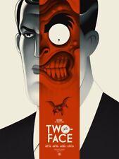 Batman Two-Face Mondo Poster Phantom City Creative Art Print Animated Series LE