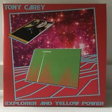 TONY CAREY Explorer Yellow Rower 2LP 2013 SEALED NEW #'d LTD ED Rainbow Planet P