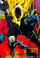 GHOST RIDER / Marvel Universe Series 5 (1994) BASE Trading Card #42