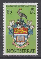 Montserrat - Michel-Nr. 726 postfrisch/**  (Vogel / Bird / Wappen)