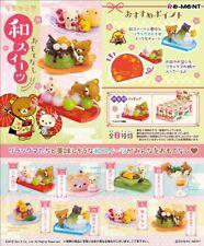 Re-Ment Miniature Sanrio Rilakkuma Omotenashi Japanese Sweets Full set 8 pieces