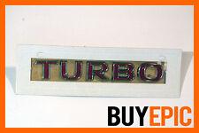Opel Turbo Schriftzug ROT, Corsa, Astra,Vectra,Insignia,Calibra, OPC, VXR, NEU