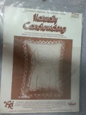"""Naturally Candlewicking Candlewick Puppy Love 1983 # 96 Quilting 5"""" x 7""""  USA"""