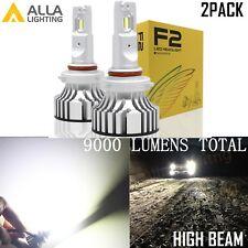 Alla Lighting 9005 LED Headlight High Beam Bulb Lamp Conversion Kit White Short