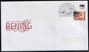 Australia 2008 Olympic Games Beijing Self Adhesive First Day Cover