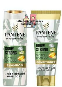 Pantene Pro V GROW STRONG Shampoo and/or Conditioner Helps with Hair loss
