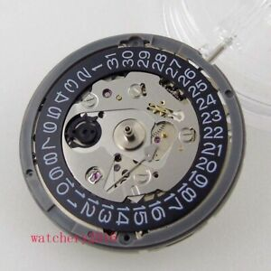 JAPAN NH35 NH35A Automatic Watch Movement Brand New black date window 24 jewels