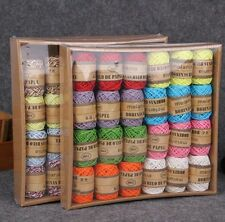 Party : 24 pc Handmade 10 m Paper Rope String Arts Craft