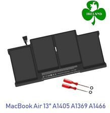 "Battery A1405 for Apple MacBook Air 13"" A1369 A1466 Mid-2011 year 020-6955-01"