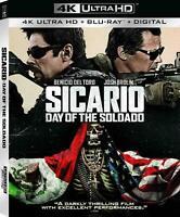 Sicario: Day of the Soldado Blu-ray - NEW FREE US SHIPPING